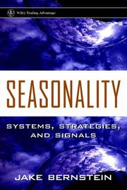 Cover of: Seasonality