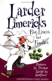 Cover of: Larder Limericks | Alistair Sampson