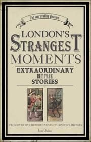Cover of: London's Strangest Moments