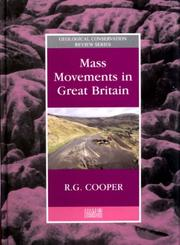 Cover of: Mass Movements in Great Britain (Geological Conservation Review)