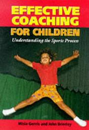 Cover of: Effective Coaching for Children | Misia Gervis