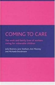 Cover of: Coming to care
