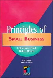 Cover of: Principles of Small Business (Principles of Management)
