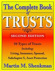 Cover of: The complete book of trusts