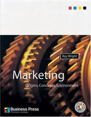 Cover of: Marketing