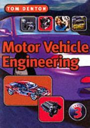 Cover of: Motor Vehicle Engineering