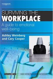 Cover of: Surviving the Workplace | Cary L. Cooper