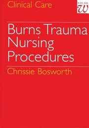 Cover of: Burns Trauma | Chrissie Bosworth