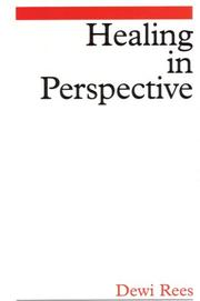 Cover of: Healing in perspective