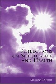 Cover of: Reflections on Spirituality and Health