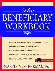 Cover of: The beneficiary workbook