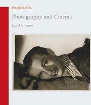 Cover of: Photography and Cinema (Reaktion Books - Exposures) | David Campany