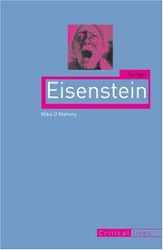 Cover of: Sergei Eisenstein (Reaktion Books - Critical Lives)