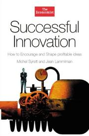 Cover of: Successful innovation