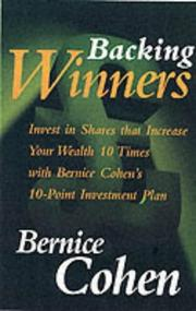 Cover of: Backing Winners