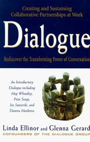 Cover of: Dialogue | Linda Ellinor
