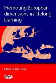 Cover of: Promoting European Dimensions in Lifelong Learning