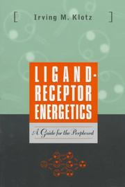 Cover of: Ligand-receptor energetics