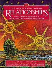 Cover of: Secret Language of Relationship