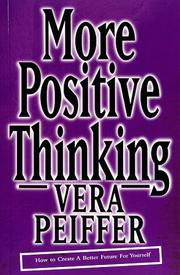 Cover of: More Positive Thinking