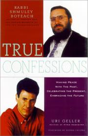 Cover of: True Confessions | Uri Geller