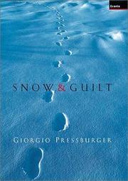 Cover of: Snow & Guilt