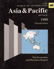 Cover of: The Asia and Pacific Review