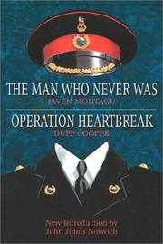 Cover of: Oper ation heartbreak The man who never was