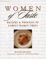 Cover of: Women of Taste