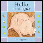Cover of: Hello Little Piglet (Hello Books)
