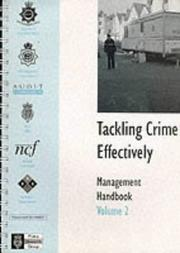 Cover of: Tackling Crime Effectively