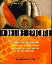 Cover of: The online epicure: finding out everything you want to know about good cooking and eating on the Internet