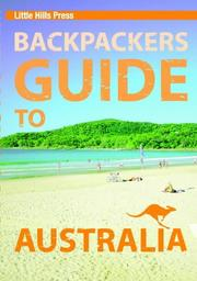 Cover of: Backpacker's Guide to Australia (Australian Travel)