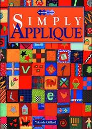 Cover of: Simply Applique (Quilters Workshop)