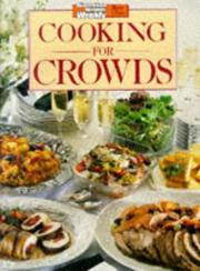Cover of: Aww Cooking for Crowds