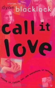 Cover of: Call It Love