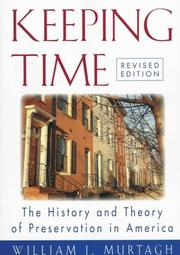 Cover of: Keeping time | William J. Murtagh