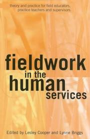 Cover of: Fieldwork in the Human Services | Lesley Cooper