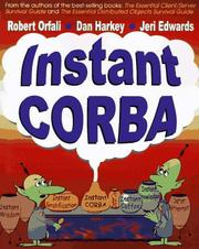 Cover of: Instant CORBA