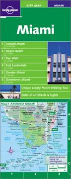 Cover of: Lonely Planet Miami City Map