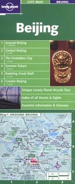 Cover of: Lonely Planet Beijing City Map (Maps & Atlases) |