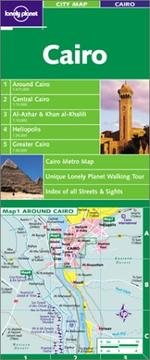Cover of: Lonely Planet Cairo City Map