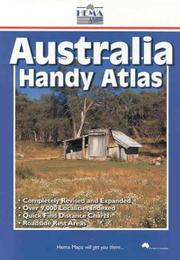 Cover of: Australia Handy Atlas (Australian Road Atlases & Guides)