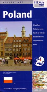 Cover of: Poland Travel Map by Hema