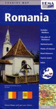 Cover of: Romania Travel map by Hema