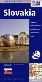 Cover of: Slovakia Travel Map by Hema