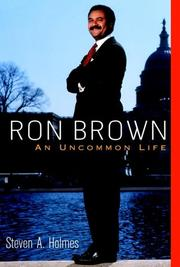 Cover of: Ron Brown