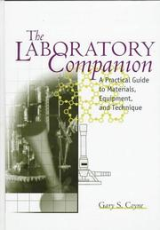 Cover of: The laboratory companion | Gary S. Coyne