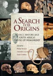Cover of: A search for origins