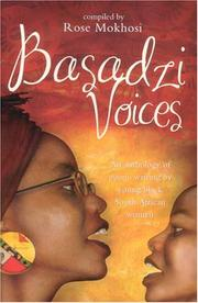 Cover of: Basadzi Voices | Rose Mokhosi